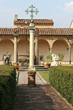 Firenze Galluzzo Il Chiostro , province of Florence Tuscany