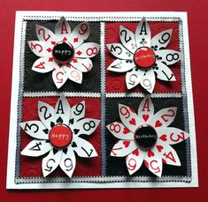 Playing card decor diy new tricks up your sleeve old playing card crafts to fall in Playing Card Crafts, Old Greeting Cards, Creation Deco, Deco Table, Diy Cards, Crafts To Make, Making Ideas, Alice, Creative