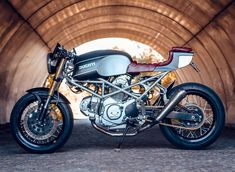 On BikeBound.com: '96 Ducati Monster 600 by @wrench_n_wheels with design from @capelosgarage.Link in Profile #ducati #ducatimonster #caferacer