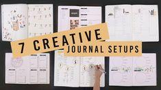 7 CREATIVE BULLET JOURNAL SETUP IDEAS | ANN LE
