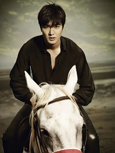 LMH. Please tell me this is real and he is actually on a horse! ♡