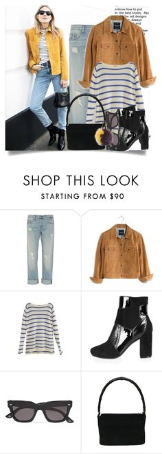 """""""Spring Saturday..."""" by hattie4palmerstone ❤ liked on Polyvore featuring J Brand, Madewell, Gucci and Furla"""