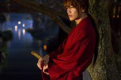 Himura Kenshin (Sato Takeru) in 'Rurouni Kenshin'(2012)