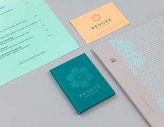 Peyote by ico Design. #branding #restaurant