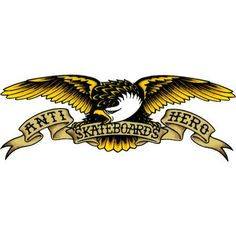 Anti Hero Skateboard Logo by Dr. Corey Rippin Sr.