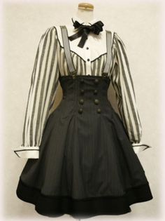 SUSPENDERS WITH HIGH WAISTED SKIRTS. Everyone,... - Honeyed by MitreSquareMurder…