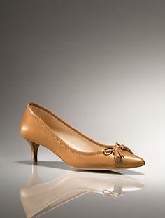 Talbots - Devyn Calfskin Kitten-Heel Pump | Shoes | Medium