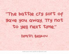 Vampire Academy Quotes | Dimitri Belikov
