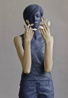 sculpture by Willy Verginer