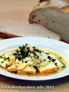 Allgäuer saurer Käse. Hmmmm. Schnell und lecker.