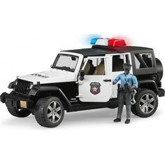 Jeep Wrangler U.R. Polis Aracı ve Koyu Renk Memur -02527 Jeep Wrangler U.R. Polis Aracı Ve Koyu Renk Memur -02527