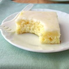 Lemon Brownies.