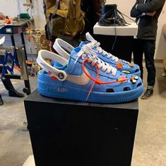 Thoughts on these Air Force crocs? Nike Air Shoes, Nike Shoes Outlet, Crocs Shoes, Shoes Sneakers, Crocs Fashion, Sneakers Fashion, Adidas Fashion, Creative Shoes, Swag Outfits Men