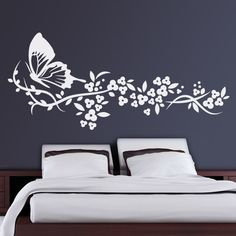 1000 images about vinilos de mariposas on pinterest for Stickers pared baratos