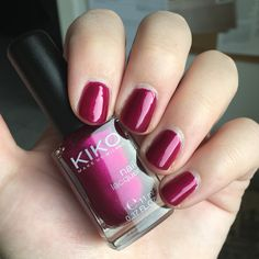 KIKO - 495 💕 Swatch, Nail Polish, Nails, Beauty, Finger Nails, Ongles, Manicure, Nail, Sns Nails