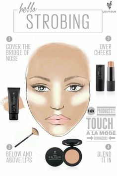 Younique's mission is to uplift, empower, validate, and ultimately build self-esteem in women around the world through high-quality products that encourage both inner and outer beauty. Eye Makeup Art, Contour Makeup, Contouring And Highlighting, Makeup Tips, Beauty Makeup, Makeup Ideas, Contour Face, Makeup Lessons, Sexy Makeup