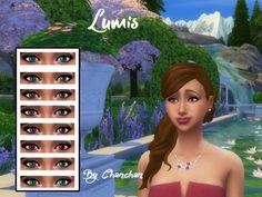 Lumis eyes by Chanchan24 at Sims Artists via Sims 4 Updates