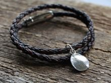 Custom Actual Fingerprint Bracelet, mens or womens jewelry | 2 Sisters Handcrafted www.2sistershandcrafted.com
