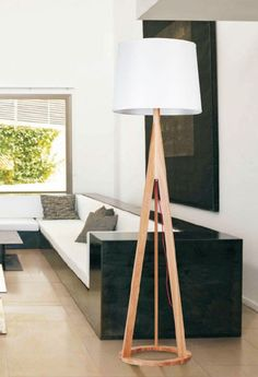Russia Ash Wood Base Floor Lamp $297.95 http://www.parrotuncle.com/russia-ash-wood-base-floor-lamp-lbmd-hl.html