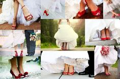 El bodorrio: los zapatos de novia