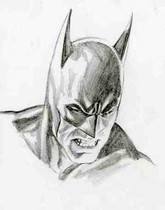 Alex Ross Batman sketch