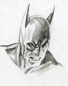 Retrato Batman - Alex Ross