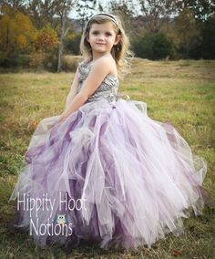 Charcoal raised rosette satin with Plum by Hippity Hoot Notion