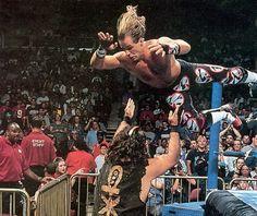 Shawn Michaels vs. Mankind