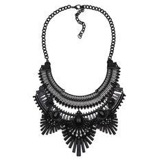 Gun Black Necklace Collection -