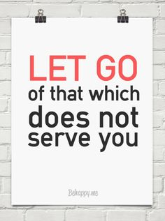 #quotes Learn to let go!!