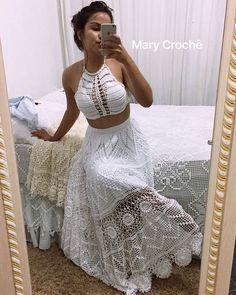 Crochet lace wedding dress pattern beautiful 39 - www. Crochet Winter Dresses, Crochet Wedding Dresses, Crochet Skirts, Crochet Clothes, Baby Dresses, Dress Wedding, Crochet Wedding Dress Pattern, Lace Wedding, Mini Dresses