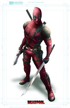 #Deadpool #Fan #Art. (DeadPool) By: Fernando Peniche. (THE * 5 * STÅR * ÅWARD * OF: * AW YEAH, IT'S MAJOR ÅWESOMENESS!!!™) [THANK U 4 PINNING!!!<·><]<©>ÅÅÅ+(OB4E)