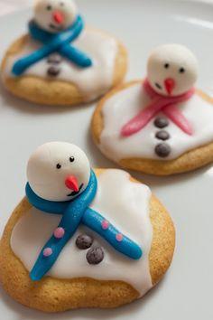 Genusskochen - Food- & Lifestyleblog: [Gastblogger] geschmolzene Schneemann Kekse von Detailliebe