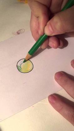 Colored Pencil Gem Tutorial