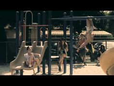 I know it's old, but sequin and ombre jean jackets + lace & studs. I love  NERVO - We're All No One ft. Afrojack, Steve Aoki
