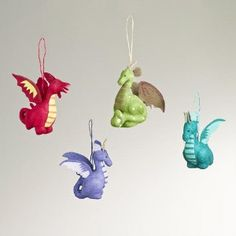 Paper Dragon Ornaments,...