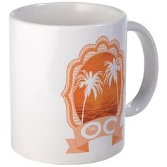 The OC TV Mugs #TheOC #TheOCTV #OrangeCounty tons of products - for all of this design click here - http://www.cafepress.com/dd/104174833