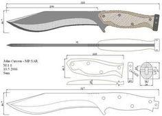 Чертежи ножей для изготовления. Часть 4 | LastDay Club image 46