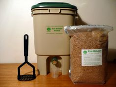 Bokashi home composting.  First step make a Bokashi bucket with spigot. Possibly 2 or 3.5gal for easier dumping?  Second step a food digester.  Can't wait to start composting with JJ.