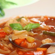 Ww 0 Point Weight Watchers Cabbage Soup