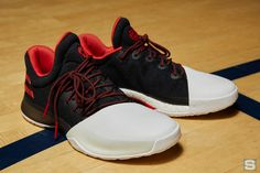 new product a7fbc 0fbbf The long-awaited James Harden Adidas signature shoe has finally been  unveiled.