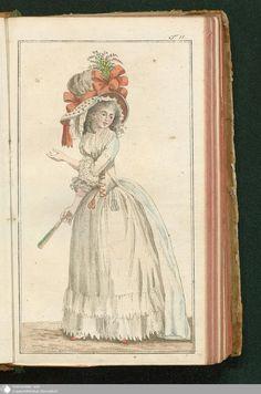 Journal des Luxus und der Moden, Tafel 11, April 1788.