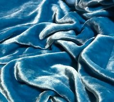 Silk/rayon velvet fabric Turquoise Blue Silk Rayon pile I do have more of this fabric, convo me for a custom listing Light Blue Aesthetic, Blue Aesthetic Pastel, Aesthetic Vintage, Bedroom Wall Collage, Photo Wall Collage, Photo Bleu, Bleu Pastel, Bleu Turquoise, Light Turquoise