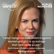Nicole Kidman wears Orange because...