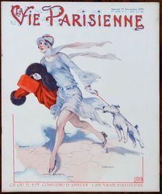 Georges Léonnec (1881 – 1940). La Vie Parisienne, 23 Novembre 1929. [Pinned 12-x-2016]