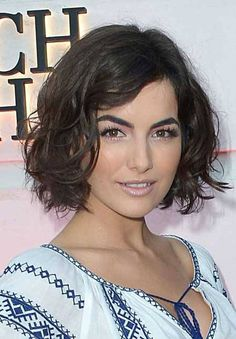 Who wouldn't love a bob with a dazzling big waves like Camilla Belle's?