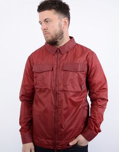 17103ebcfa0 Peaceful Hooligan Staff Jacket Red. Terraces Menswear