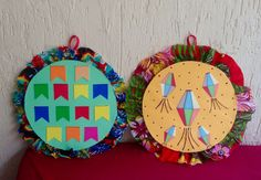 Festa junina Culture, Christmas Ornaments, Holiday Decor, Diy, School Events, Artists, Bricolage, Christmas Jewelry, Do It Yourself