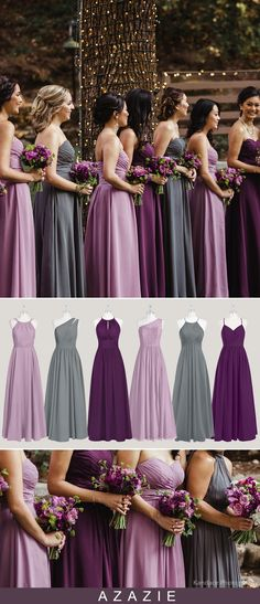 Wedding Bridesmaid Dresses Purple Bridesmaid Dresses - Wedding bridesmaid dresses purple , hochzeit brautjungfer kleider lila , robes de demoiselle d'honneur de mariage violet , vestidos de dama de honor de la boda púrpura , we Source by amiidkmccarl - Grey Bridesmaids, Mismatched Bridesmaid Dresses, Wedding Bridesmaid Dresses, Wedding Attire, Wedding Gowns, Wedding Ceremony, Bridal Gown, Wisteria Bridesmaid Dresses, Bridal Hair