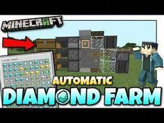 How To Make A Xp Farm In Minecraft Bedrock Minecraft Automatic Diamond Farm Tutorial Mcpe Xbox Bedrock Youtube Xboxtips With Images Mine Minecraft Minecraft Farm Minecraft